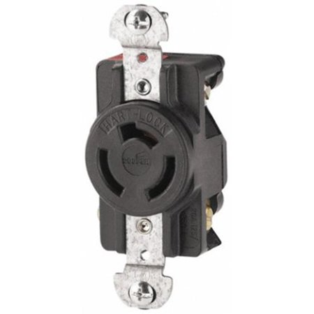 Part 7310-B 3-Wire Locking Receptacle, by Cooper Wiring, Single Item, Great - Cooper Wiring Single