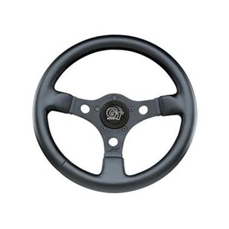 GRANT 772 Formula Gt Steering Wheels, Black Leather, 12 (Grant Leather)