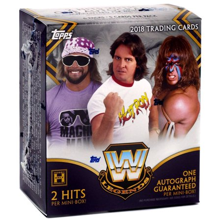 - WWE Wrestling 2018 WWE Legends Trading Card MINI Box