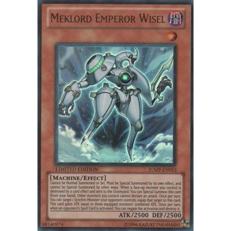 Yugioh Meklord Emperor Wisel (JUMP-EN053) - Shonen Jump Magazine Promo Card- Limited Edition - Ultra Rare by Yu-Gi-Oh!