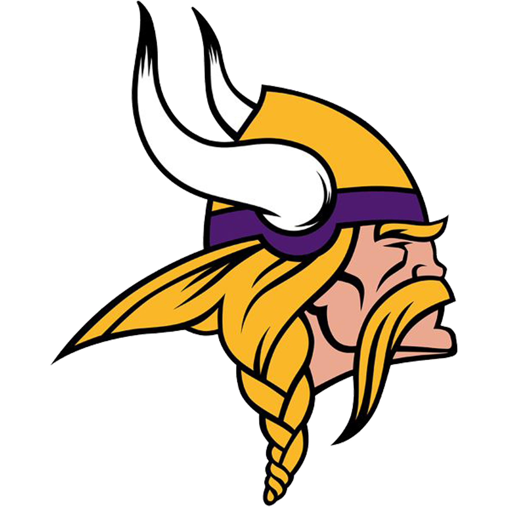 Minnesota Vikings Fathead Logo Giant Removable Decal - No Size