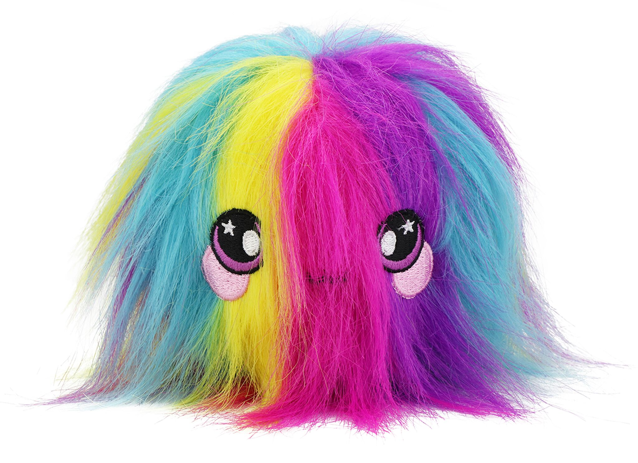 "Squeezamals, Fluffy Furball - 3.5"" Super-Squishy Foam Stuffed Animal! Squishy, Squeezable, Cute, Soft, Adorable!"