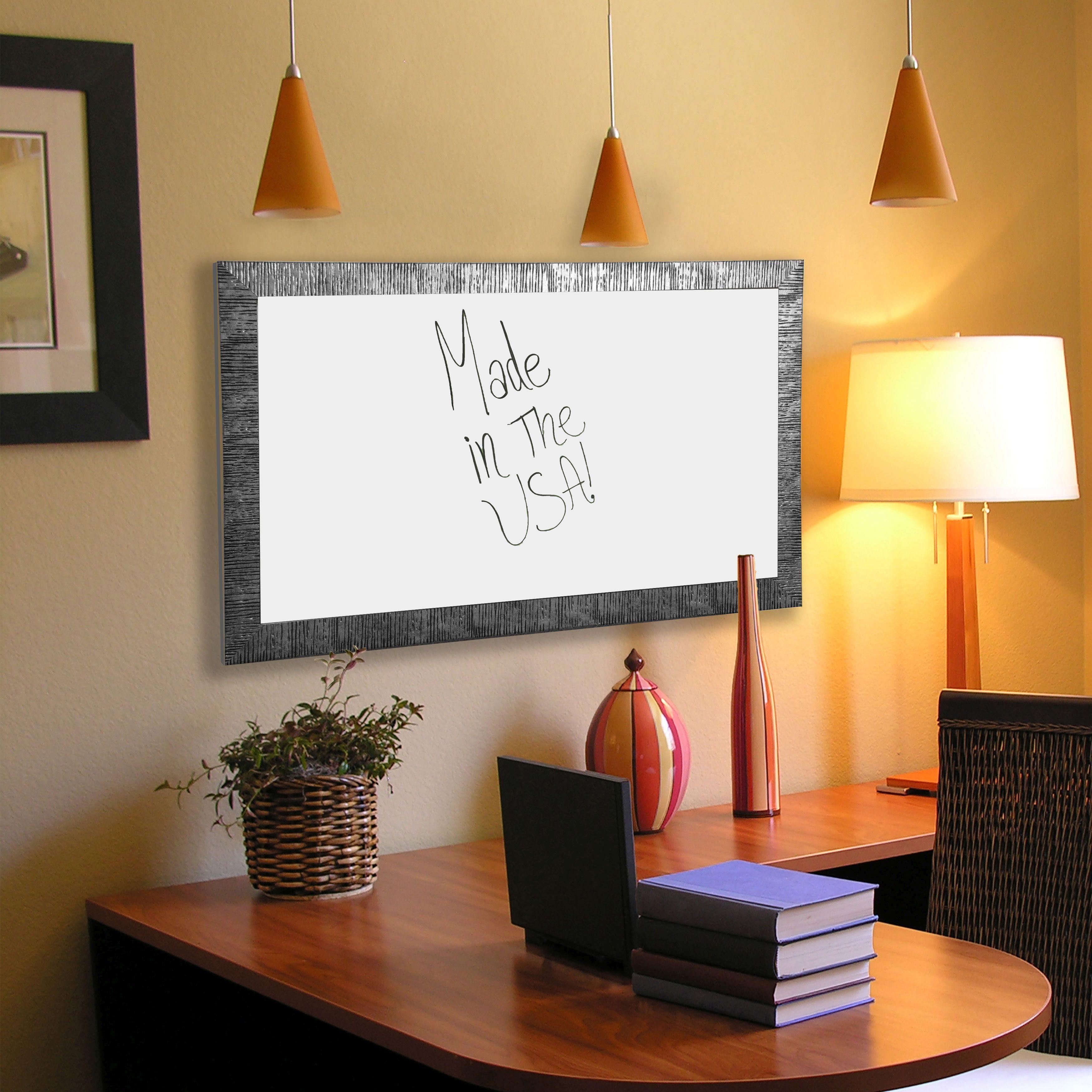 Rayne Mirrors American Made Rayne Safari Silver Whiteboard