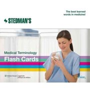 Stedman's Medical Terminology Flash Cards (Other)