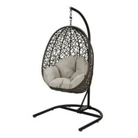 Better Homes & Gardens Open Weave Patio Wicker Hanging Chair