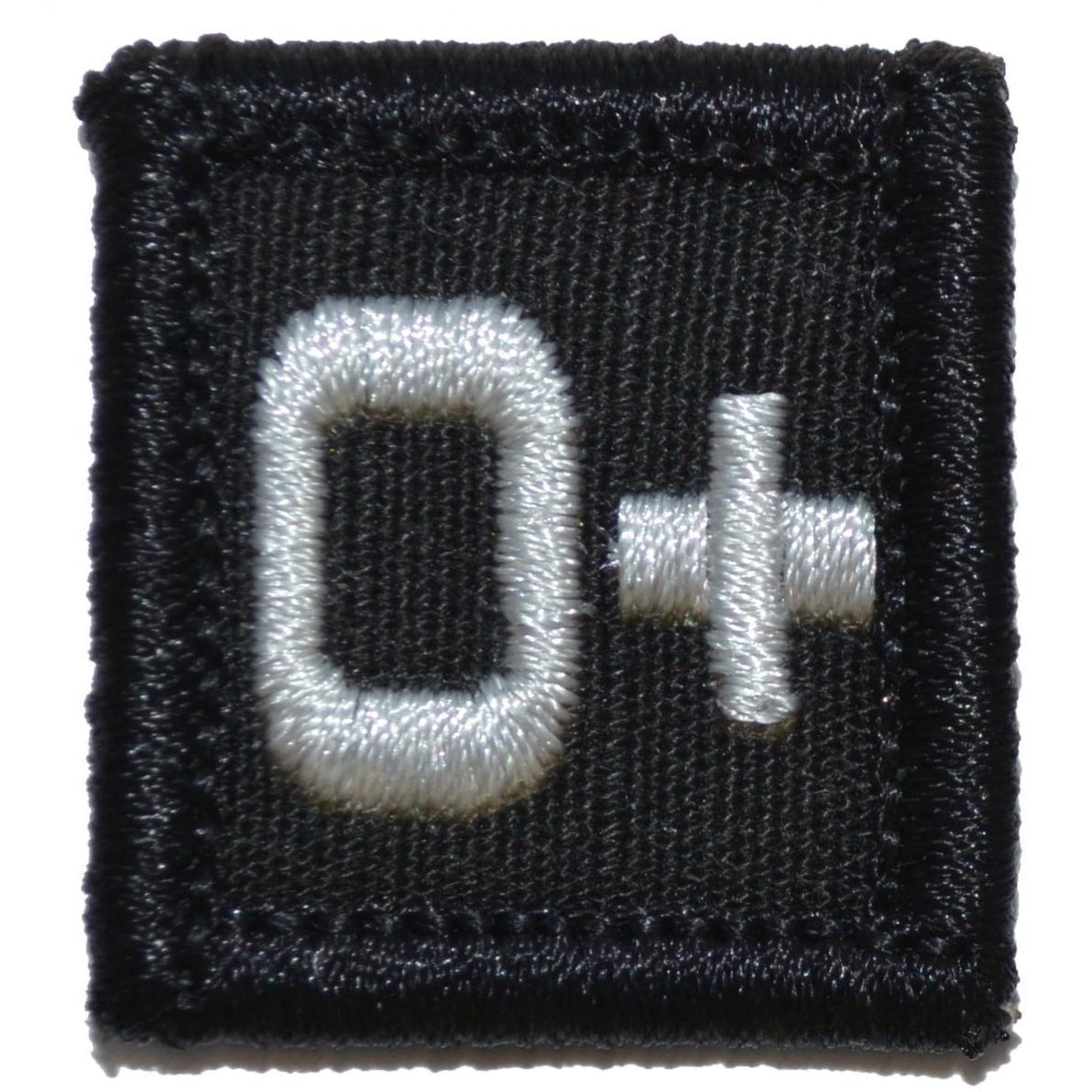 Blood Type O POS - 1x1 Patch