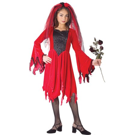 Devil For Halloween Kids (Devil Bride Red Child Halloween)