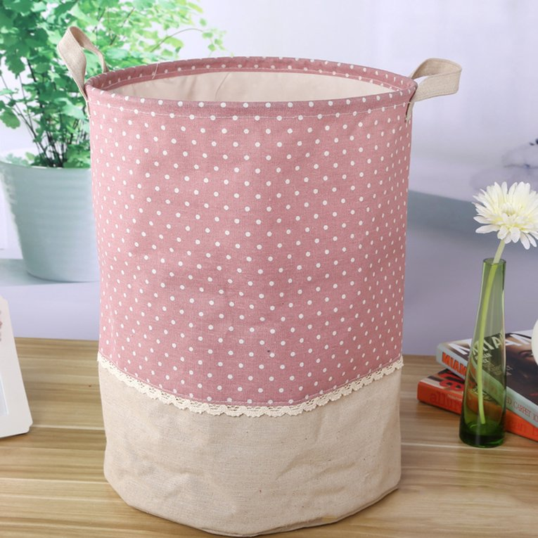 Laundry Basket Waterproof Foldable Hamper Bag Dirty Clothes Toy Storage