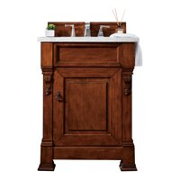 "James Martin Vanities 147-114-V26-3AF Brookfield 26"" Free Standing Single Basin Vanity Set"