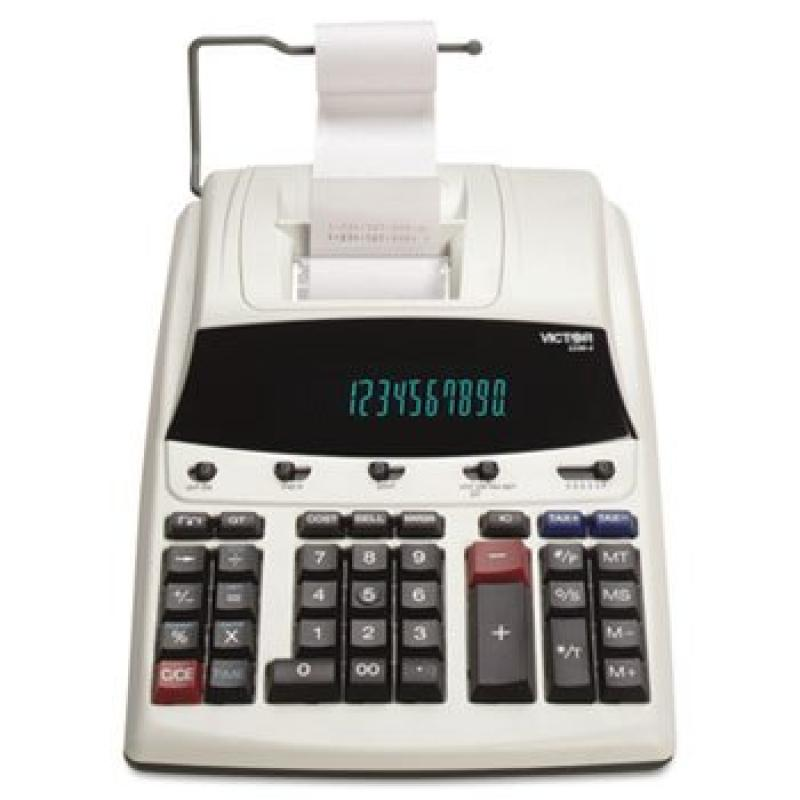 VCT12304 - 1230-4 Fluorescent Display Printing Calculator