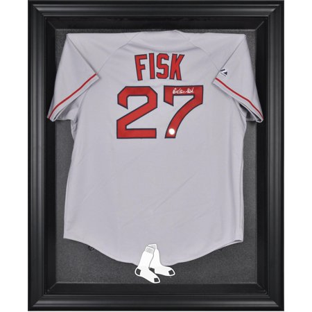 Boston Red Sox (2009-Present) Black Framed Logo Jersey Display (2009 Team Bike Jersey)