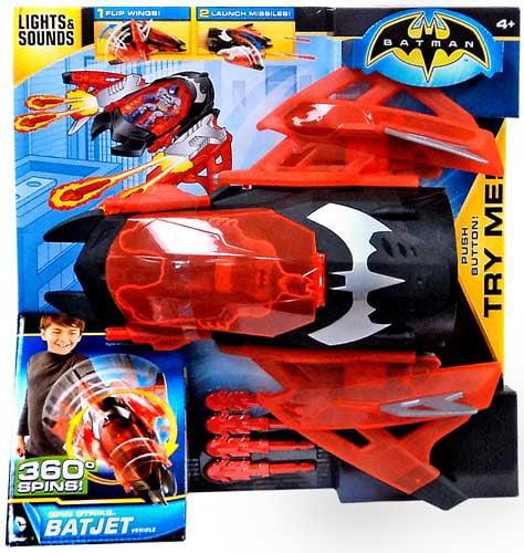 Batman Spin Strike Bat Jet Vehicle
