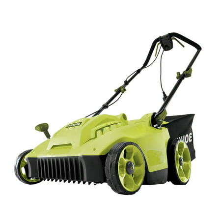 Sun Joe MJ506E Electric Reel Lawn Mower w/ Grass Catcher | 16 in | 6.5 Amp | Quad Wheel | 24