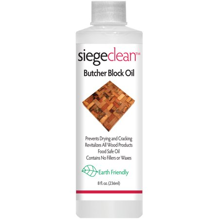 Siege Clean Butcher Block Oil 8oz (Best Butcher Block Oil)