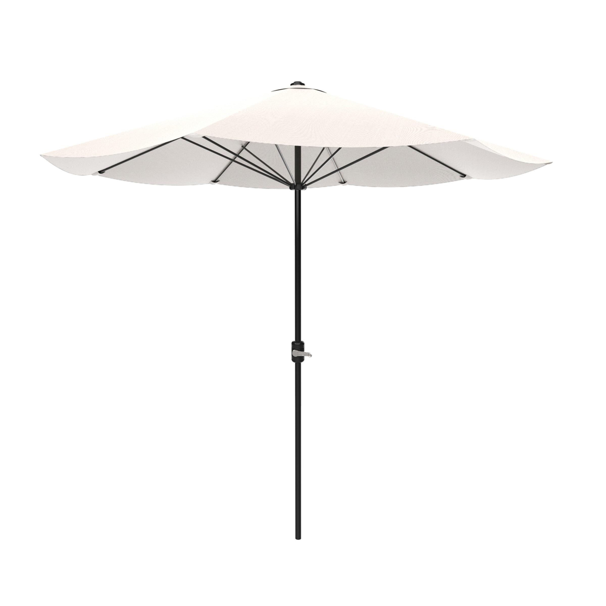 Patio Umbrella, Outdoor Shade with Easy Crank- Table Umbrella for Deck, Balcony, Porch,... by Trademark Global LLC