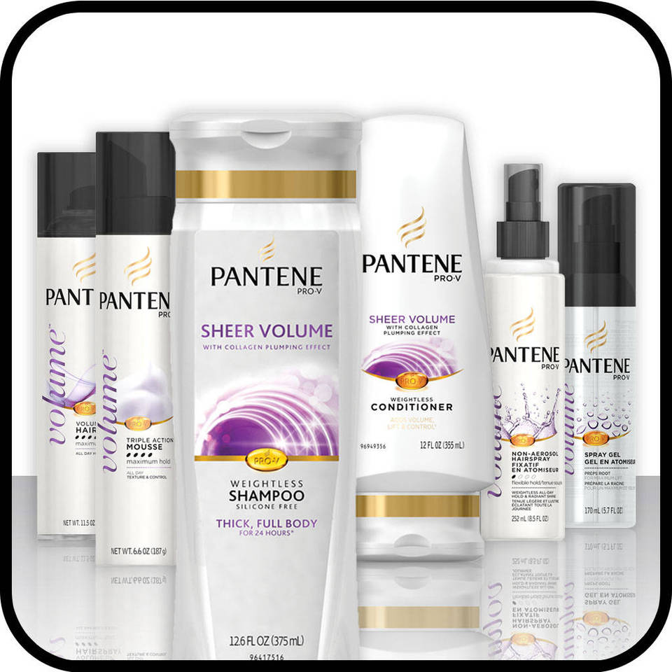 Pantene Pro-V Sheer Volume Hair Care Collection