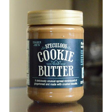 Trader Joe's Speculoos Cookie Butter (14.1 Oz (Trader Joe's Halloween Treats)