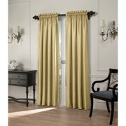 Treasure Faux Silk Interlined Curtain Panel