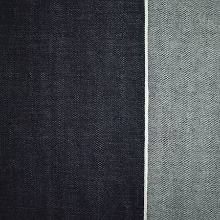 Deep Blue Cotton Japanese Selvedge Denim Fabric By The