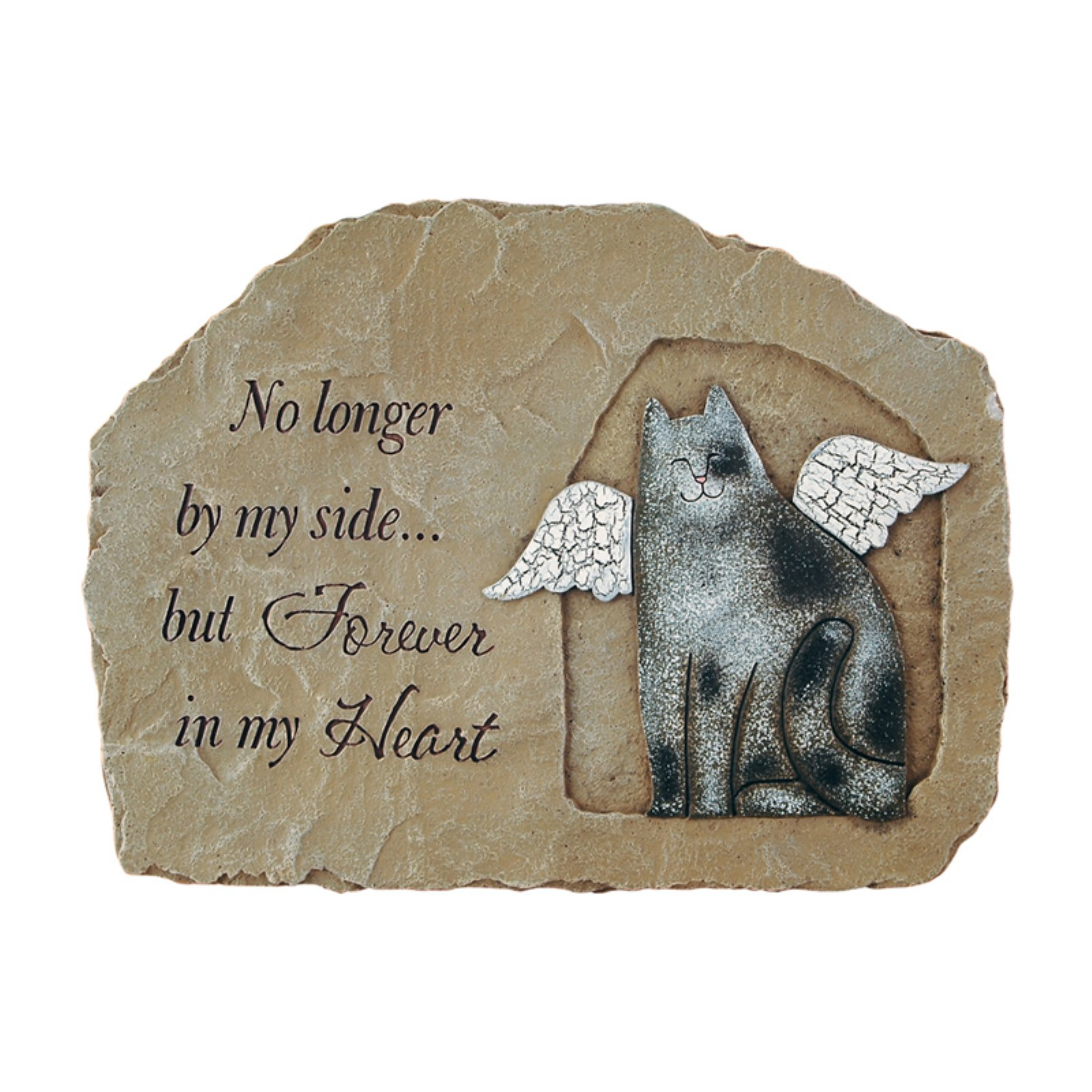 Carson Home Accents Cat Memorial - Garden Stone