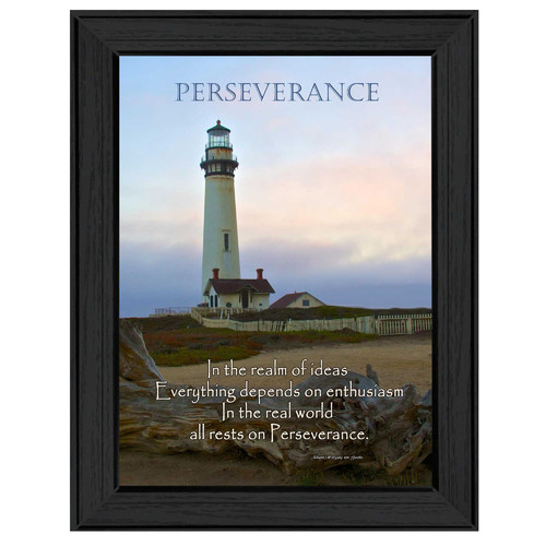 Trendy Decor 4U 'Perseverance' Framed Photographic Print