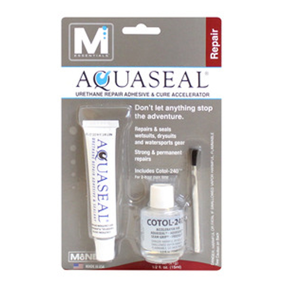 Gear Aid Aquaseal Repair Adhesive and Cotol-240 Cure Accelerator Outdoor - Small