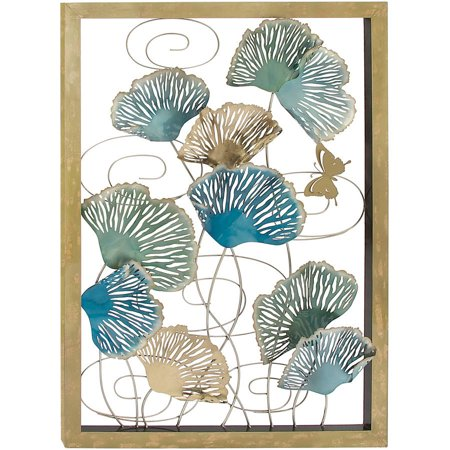 Modish metal wall decor for Walmart art decor