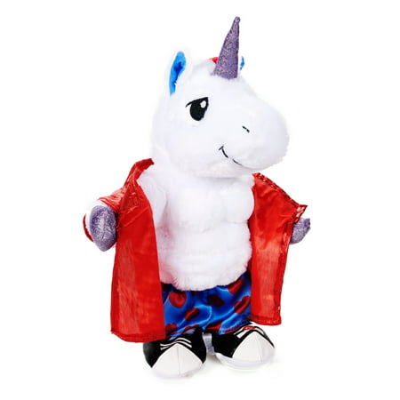 Way To Celebrate Animated Plush, Unicorn Flasher