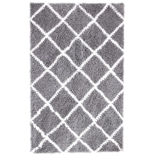 Affinity Home Collection Hand-Woven Silver Area Rug