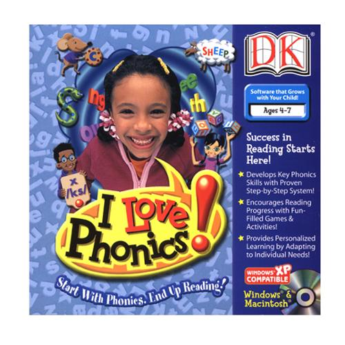 I Love Phonics! for Windows and Mac