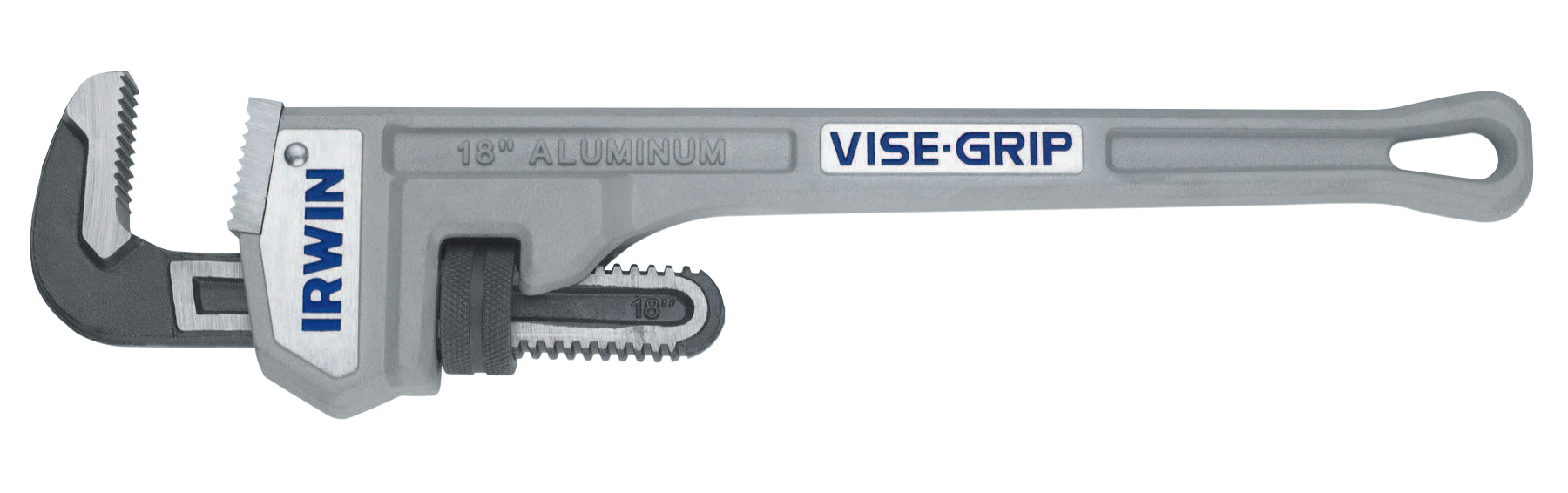 Irwin Vise-Grip Aluminum Pipe Wrenches, Drop Forged Steel Jaw, 18 in by Newell Rubbermaid™