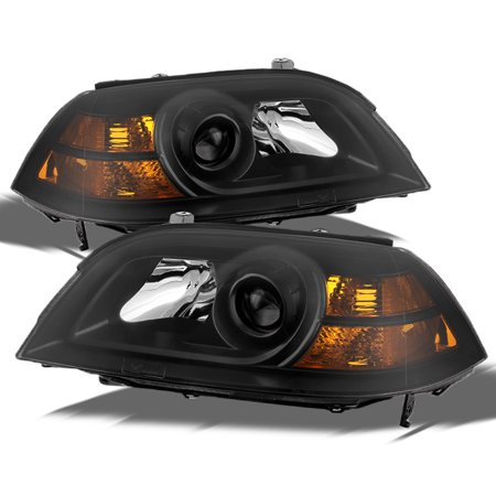 Fit 04-06 Acura MDX Replacement Black Projector Headlights Headlamps L+R (Acura Mdx Headlamp)