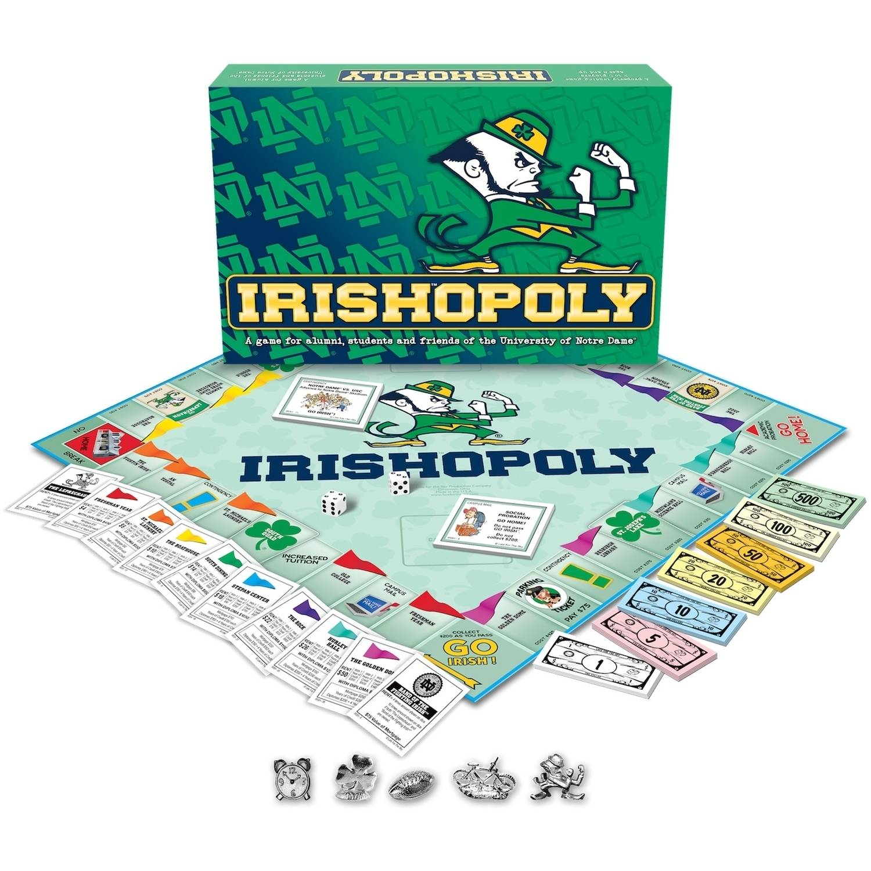 Notre Dame - Irishopoly Board Game