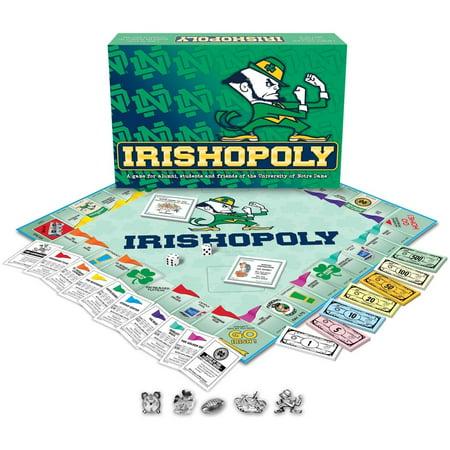 - Notre Dame - Irishopoly Board Game