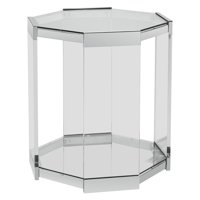 Powell Brahm Chrome Side Table
