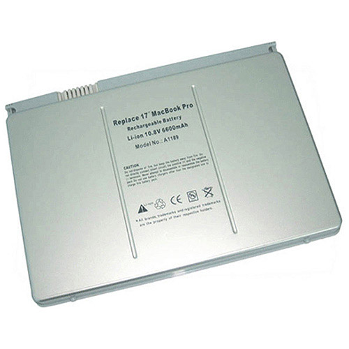 """Apple MacBook Pro 17"""" A1189 Replacement Battery"""