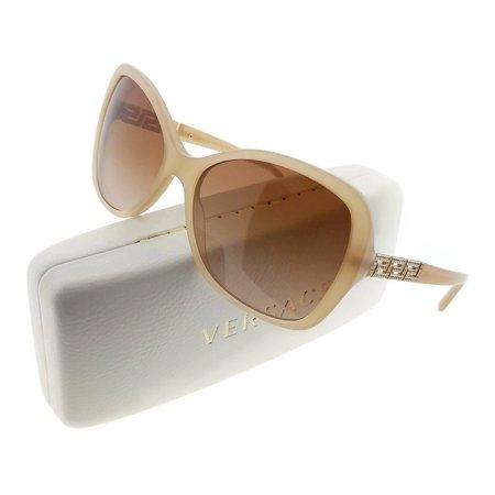 7804b044ed1 Versace - Versace VE4271B-503913 Women s Beige Frame Brown Lens 58mm  Sunglasses New In Box - Walmart.com