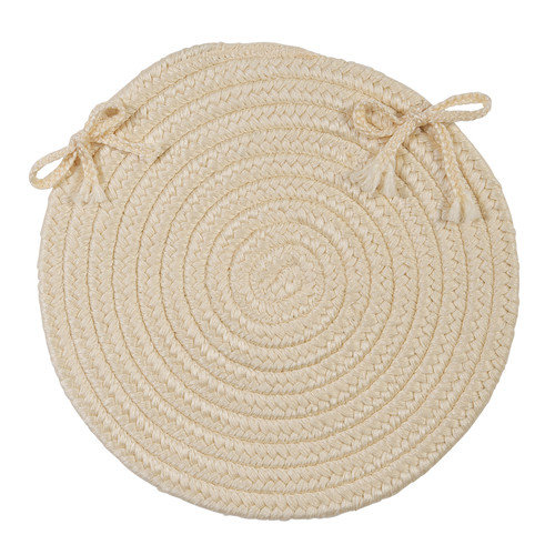 Boca Raton Cashew Chair Pad (single) by Colonial Mills