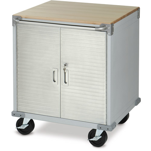 Seville Classics UltraHD Rolling Storage Cabinet