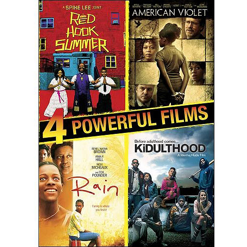 4 Powerful Films: Red Hook Summer / American Violet / Rain / Kidulthood (Widescreen)