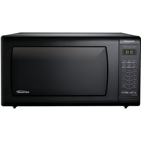 Panasonic 1.6 Cu Ft. 1250W Countertop Inverter Microwave Oven, Black