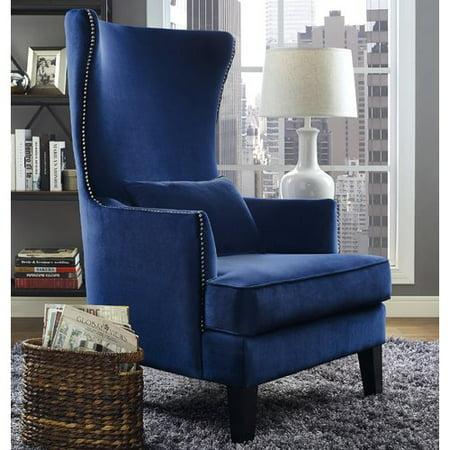 Willa Arlo Interiors Jacinto Velvet Wingback Chair