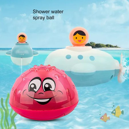 Children'S Induction Sprinkler Ball Bath Toys Amphibious Splashing Water Toys - image 1 of 8
