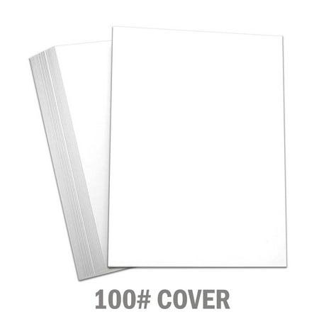 Hamilco White Cardstock Thick Paper - 8 x 10