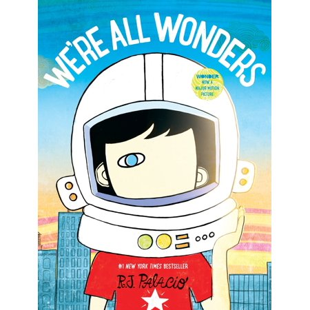 We're All Wonders (Hardcover) - We're Not Home Halloween Sign
