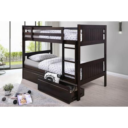 Best Quality Furniture Bunk Bed Multiple Sizes Walmart Com