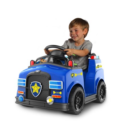Paw Patrol 6v Chase Quad Ride On Toy For Kids By Dynacraft