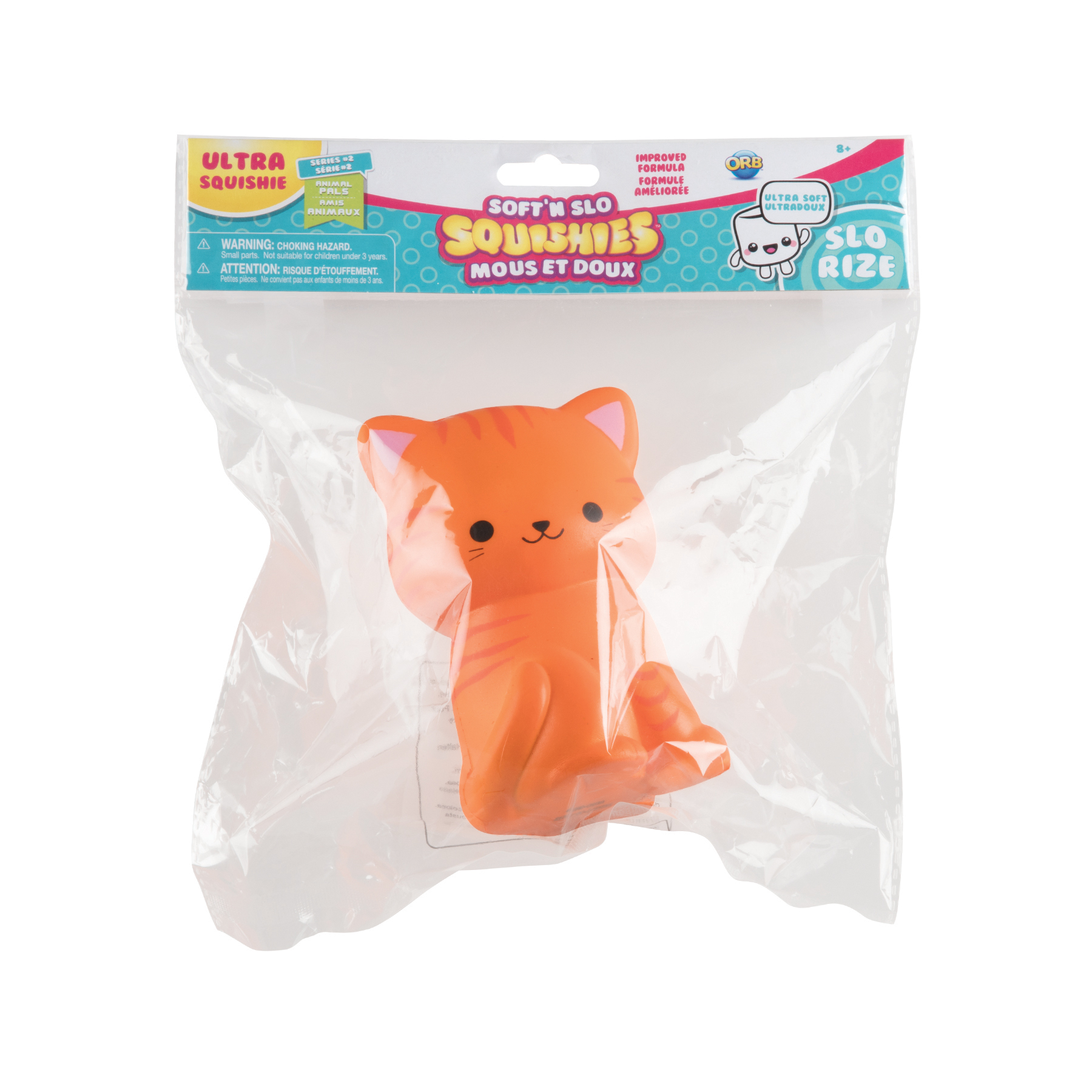 Soft'n Slo Squishies Pumpkin Kitty