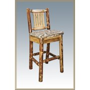 Montana Woodworks 30 in. Glacier Country Barstool