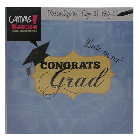 Canvas Kudos CKLE023 Graduation Plaque
